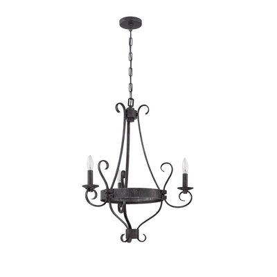 Lagarde 3-Light Candle-Style Chandelier