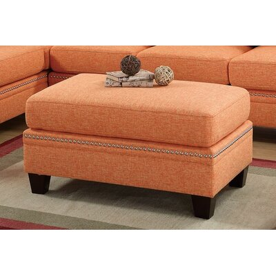 Marshal Cocktail Ottoman Upholstery: Citrus