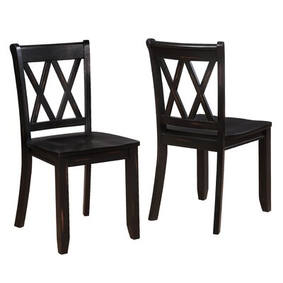 Fuqua Dining Chair Finish: Black
