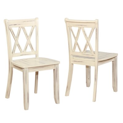 Fuqua Dining Chair Finish: Ivory