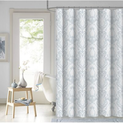 Gee Damask Cotton Shower Curtain