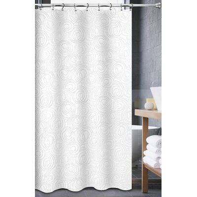 Pellegrini Matelasse Shower Curtain