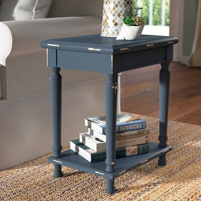 Ashford Accent End Table Color: Blue