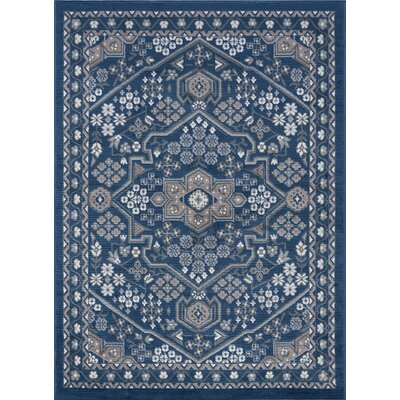 Westerlund Doormat Color: Navy