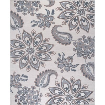 Moyo Cream Area Rug Rug Size: Rectangle 9 x 126