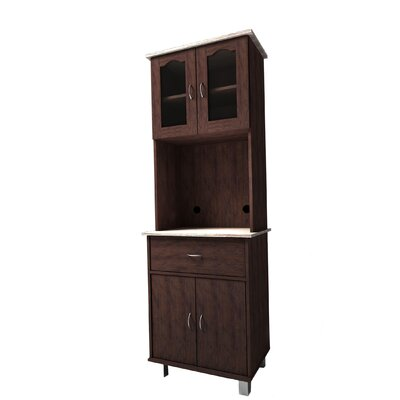 Humphreys China Cabinet Color: Chocolate-Grey