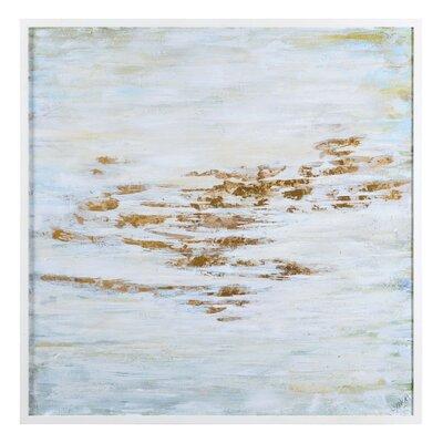 'Placid' Framed Oil Painting Print on Canvas
