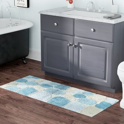 Knights Bath Rug Color: Aquamarine