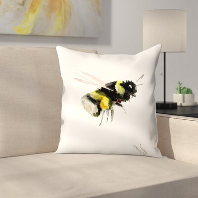 Suren Nersisyan Bumblebee 2 Throw Pillow Size: 18 x 18