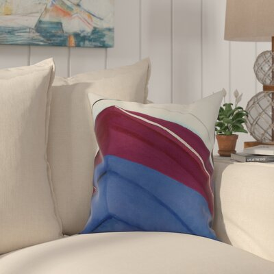 Crider Boat Bow Left Print Indoor/Outdoor Throw Pillow Color: Royal Blue, Size: 20 x 20