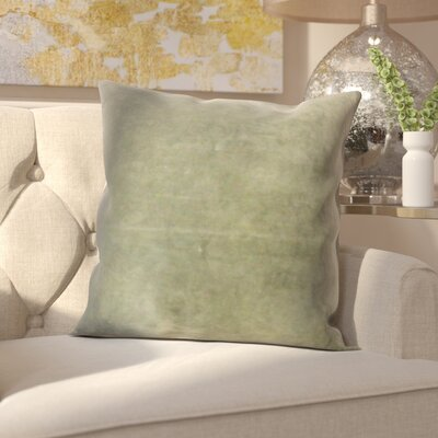Northam Cotton Throw Pillow Color: Moss