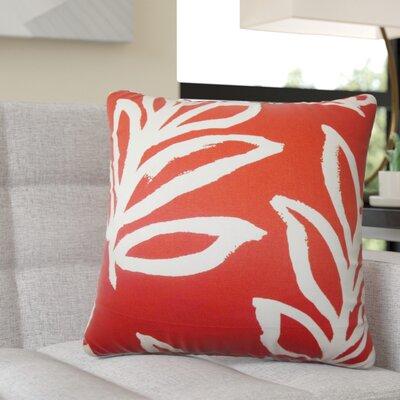Pierson Floral Cotton Throw Pillow