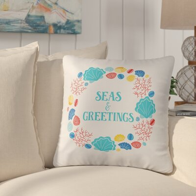 Belinda Beachcomber Christmas Throw Pillow