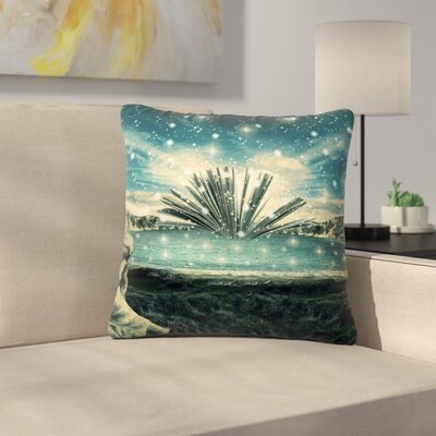 888 Design the Knowledge Keeper Fantasy Outdoor Throw Pillow Size: 18 H x 18 W x 5 D
