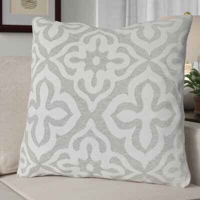 Silpa Throw Pillow Color: Light Gray