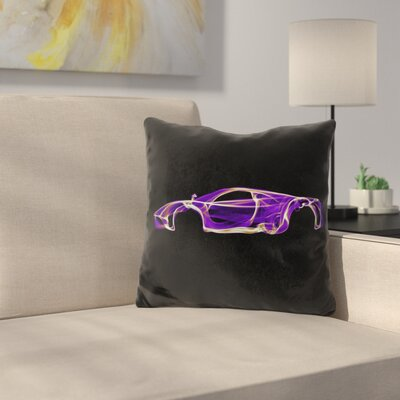 Pagani Huayrad Throw Pillow
