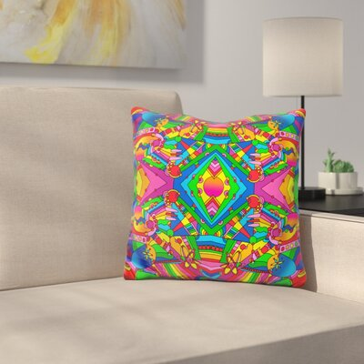 Retro 216 Throw Pillow