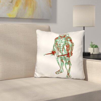 Turtle Raphael Throw Pillow