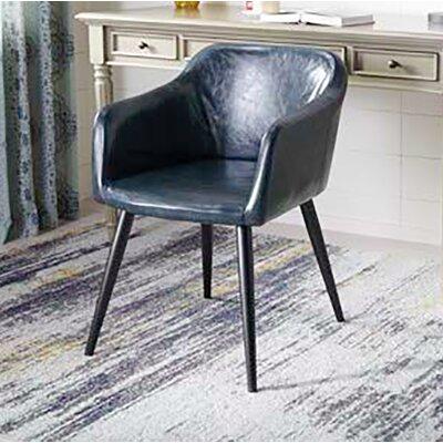Zepeda Accent Armchair Upholstery: Dark Gray
