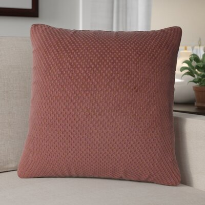 Jonie Textured Woven Toss Throw Pillow Color: Earth