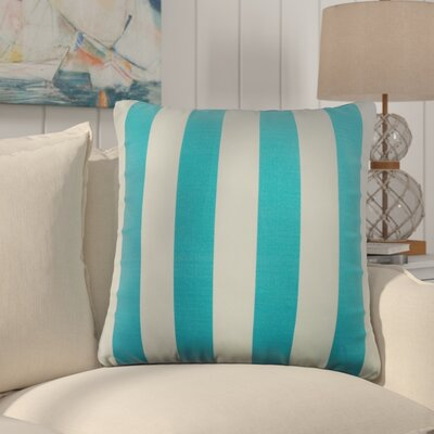 Outdoor Throw Pillow Color: Oceana