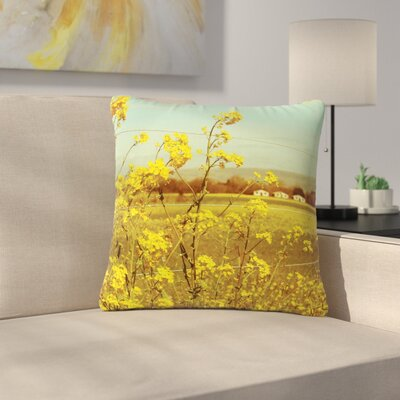 Graphic Tabby Spring Breeze Photography Outdoor Throw Pillow Size: 16 H x 16 W x 5 D