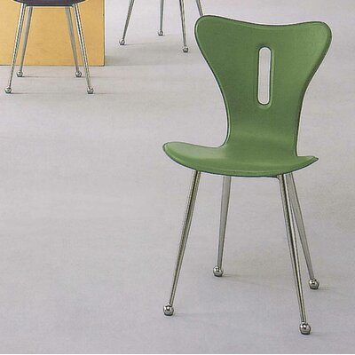 Pauley Side Chair Finish: Green