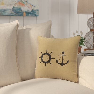 Caribe Throw Pillow Color: Straw