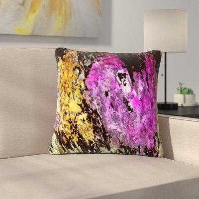 Rosie Brown Garden Glows Outdoor Throw Pillow Size: 18 H x 18 W x 5 D
