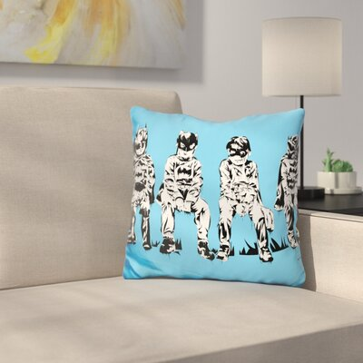 Baby Batmans Throw Pillow