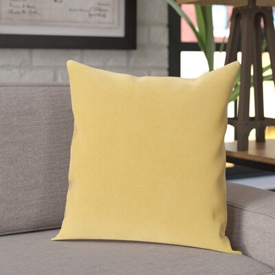Are Pillow Cover Color: Yellow