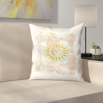 Sun Throw Pillow Size: 20 x 20