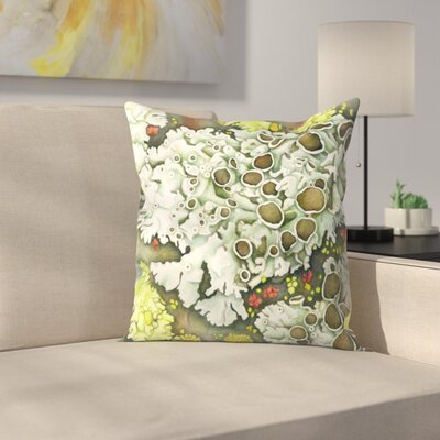 Lichen Throw Pillow Size: 16 x 16