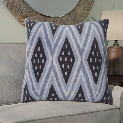 Sabrina Geometric Print Outdoor Pillow Color: Bewitching, Size: 18