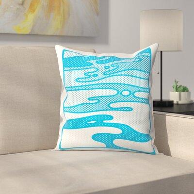 Joe Van Wetering Pop Camo Throw Pillow Size: 20 x 20