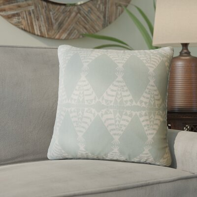 Vail Geometric Down Filled 100% Cotton Throw Pillow Size: 24 x 24, Color: Dew
