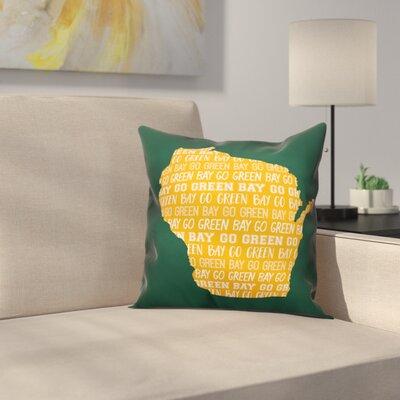 Wisconsin Go Team Throw Pillow