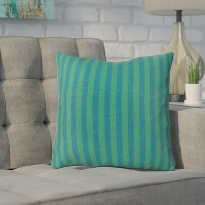 Mosquera Indoor/Outdoor Throw Pillow Size: 20 H x 20 W x 4 D, Color: Teal/Emerald