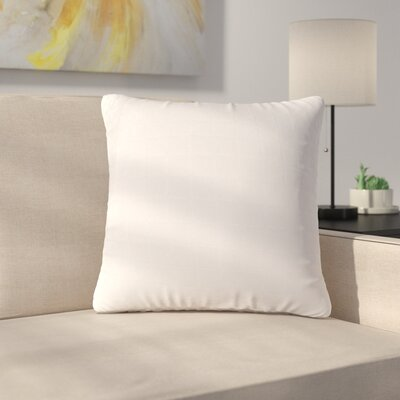 Bloomingdale Throw Pillow Color: White