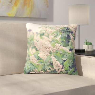 Sylvia Coomes Breath of Fresh Air Floral Outdoor Throw Pillow Size: 16 H x 16 W x 5 D
