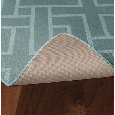 Tarsha Seafoam Green Area Rug Rug Size: Rectangle 26 x 310