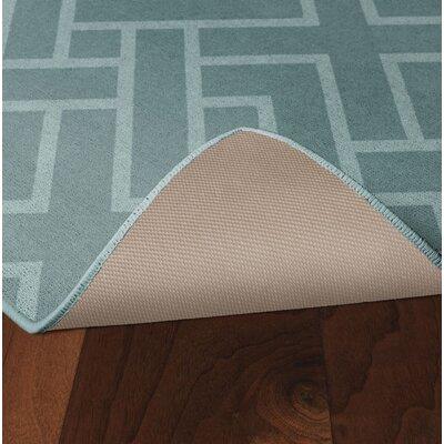 Tarsha Seafoam Green Area Rug Rug Size: Rectangle 34 x 5