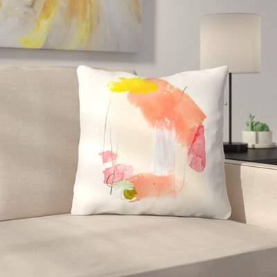 Olimpia Piccoli Dreamsicle Throw Pillow Size: 18 x 18