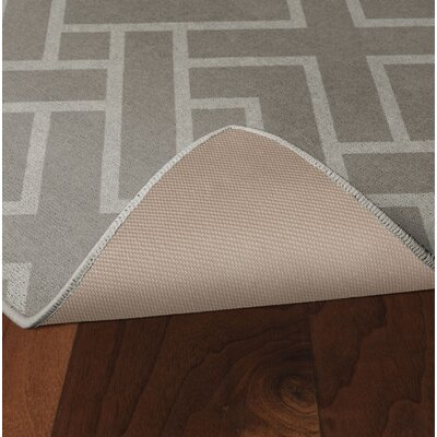 Tarsha Khaki Area Rug Rug Size: Rectangle 34 x 5