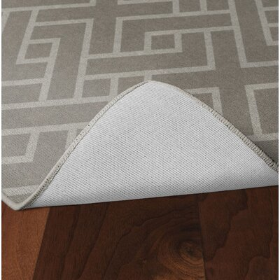 Tarsha Khaki Area Rug Rug Size: Rectangle 5 x 8