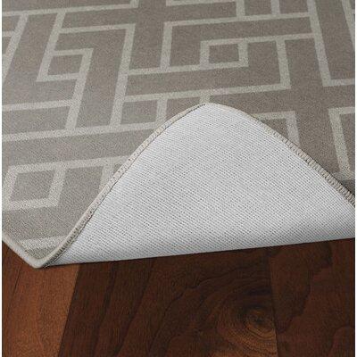 Tarsha Khaki Area Rug Rug Size: Rectangle 76 x 10