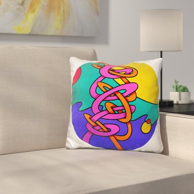 Intertwine Circle Throw Pillow