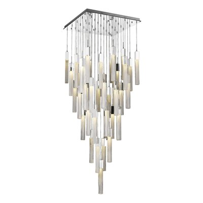 Oldenburg 41-Light LED Cluster Pendant Finish: Polished Chrome