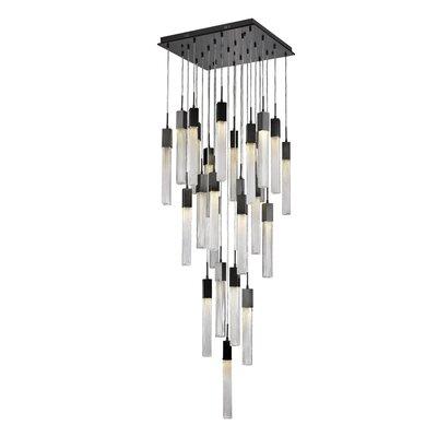 Oldenburg 25-Light LED Cluster Pendant Finish: Dark Bronze