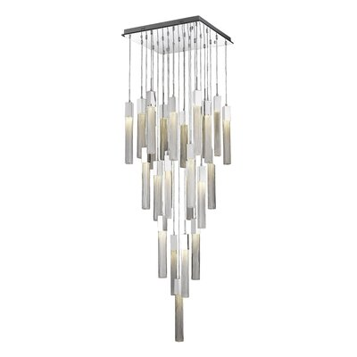 Oldenburg 25-Light LED Cluster Pendant Finish: Polished Chrome